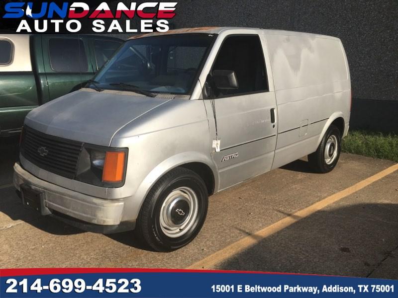 Sold 1986 Chevrolet Astro Cargo Van In Addison