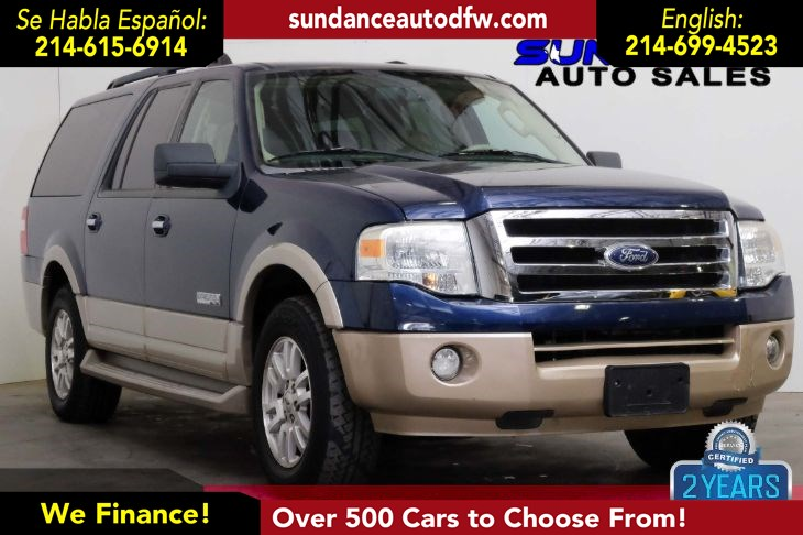 2008 Ford Expedition EL Eddie Bauer