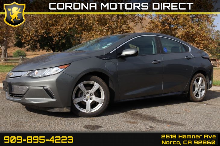 2017 Chevrolet Volt LT (w/ Comfort Package & Preferred Group)