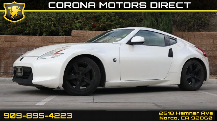 2010 Nissan 370Z Touring (w/ Synthetic Suede Trim & Heated Seats)