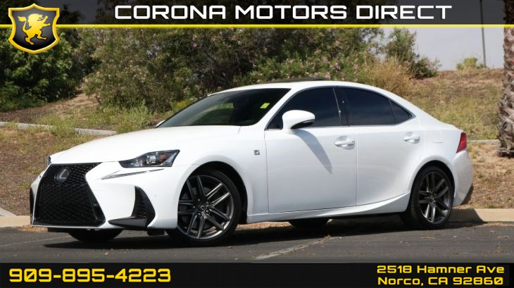 2018 Lexus IS 300 F-SPORT