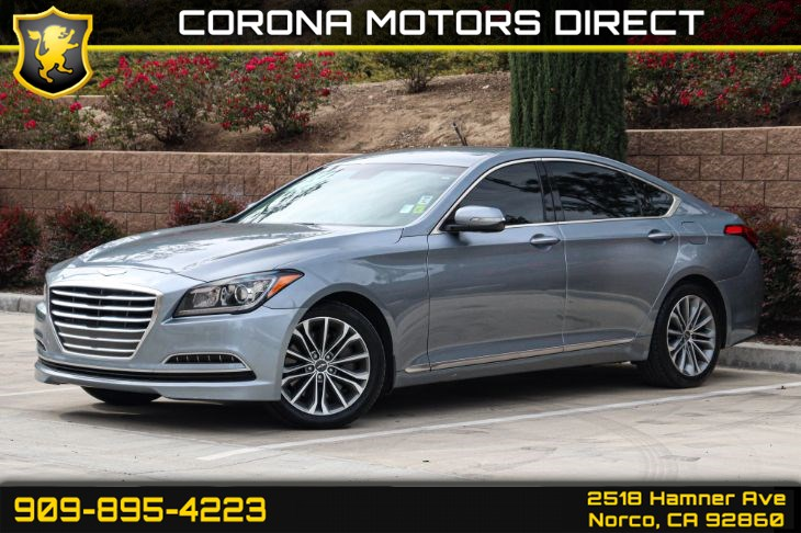 2016 Hyundai Genesis G 80 3.8L ( W/ BACK UP CAMERA AND CLIMATE CONTROL)