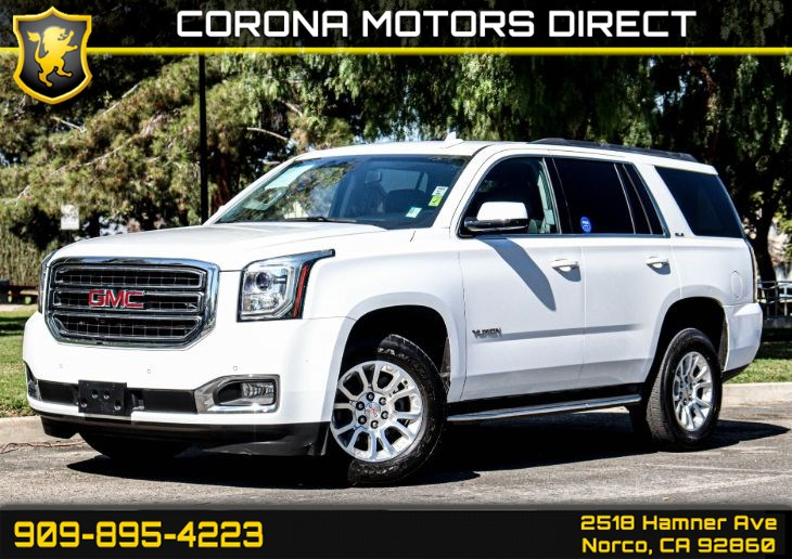 2016 GMC Yukon SLE 4X2 (W/ BACK UP CAMERA & BLUETOOTH)