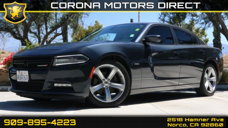 2017 Dodge Charger R/T (w/Quick Order Package)