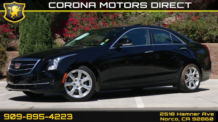 2016 Cadillac ATS Sedan 2.5L Luxury Collecti
