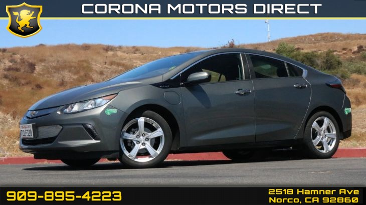 2017 Chevrolet Volt LT (w/ Back-up Camera & Preferred Group)