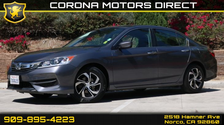 2017 Honda Accord Sedan LX (Bluetooth & Back Up Camera)