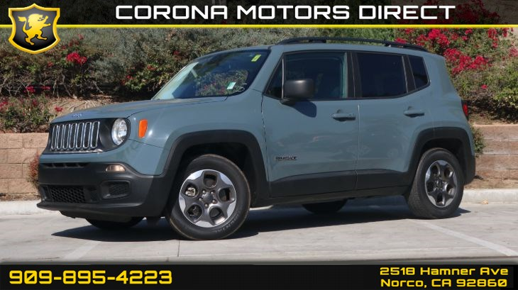 2017 Jeep Renegade Sport ( PUSH START BUTTON & A/C )