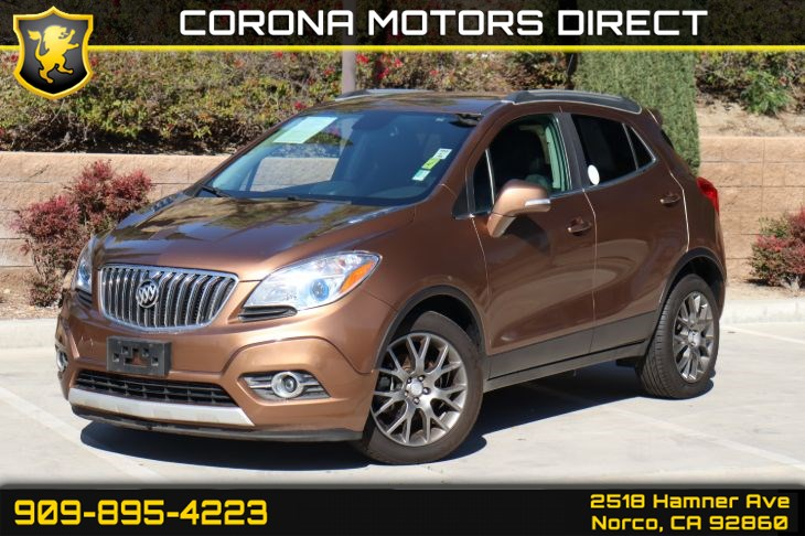 2016 Buick Encore Sport Touring (w/ BOSE Speakers & Navigation)