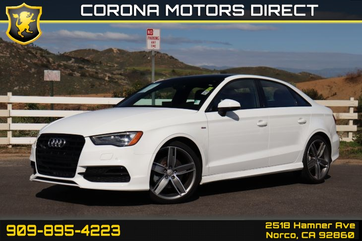 2016 Audi A3 1.8T Premium (w/ S-Line Style Package)