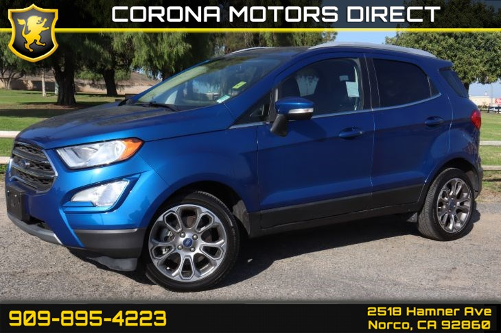 2018 Ford EcoSport Titanium ( W/ Navigation & Back Up Camera)