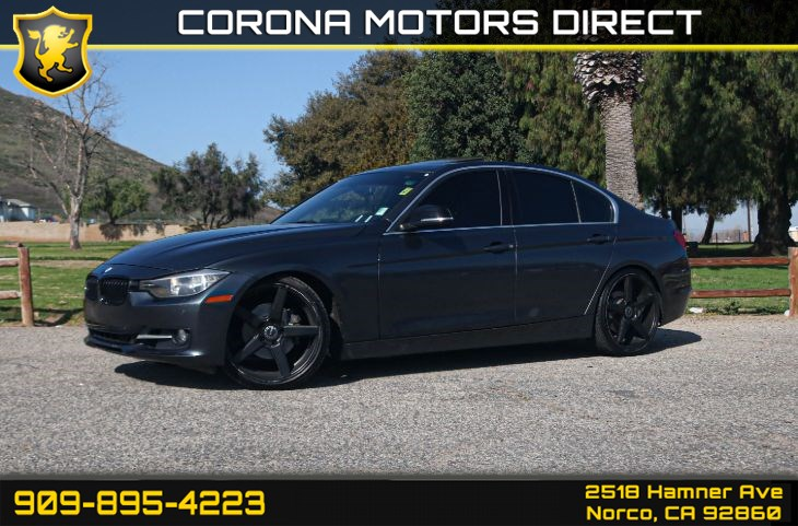 2015 BMW 3 Series 328i (w/ Red INT Rear View Camera & Navigation)