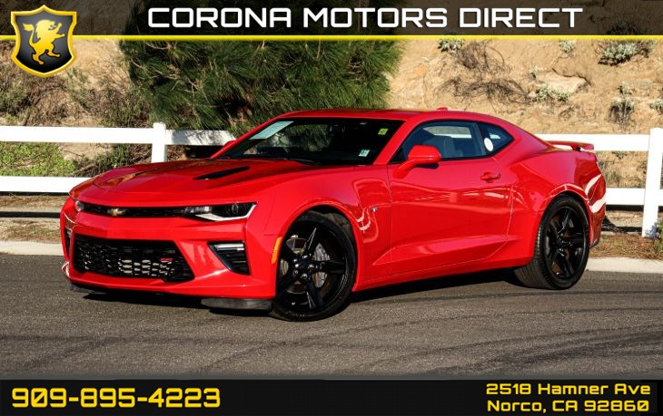 2018 Chevrolet Camaro SS (w/ Preferred Equipment Group)