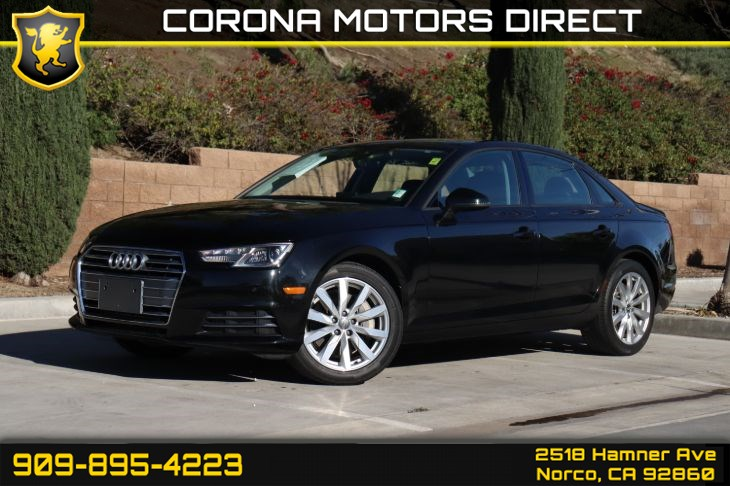 2017 Audi A4 Premium (W/ Heated Front Seats & Sunroof)