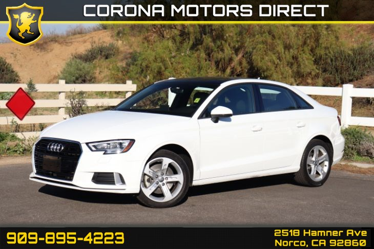 2017 Audi A3 Sedan Premium (w/ Convenience Package & Homelink)