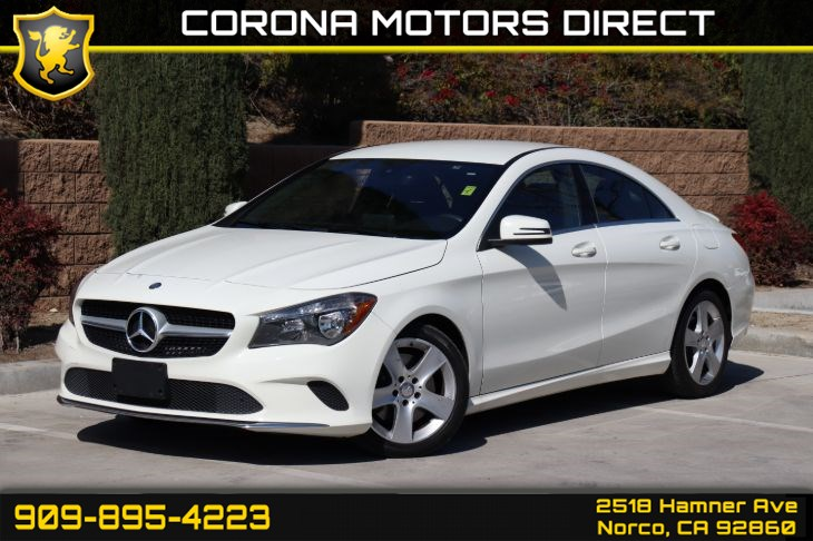 2017 Mercedes-Benz CLA 250 Coupe (W/ SMART PHONE INTEGRATION PACKAGE)