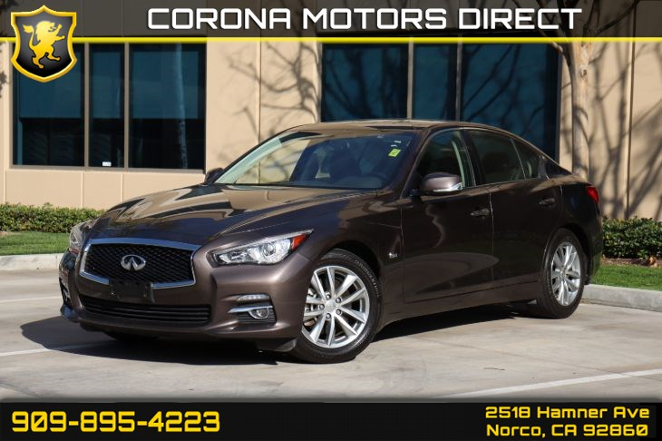 2016 INFINITI Q50 2.0T (W/ PREMIUM PLUS PACKAGE)