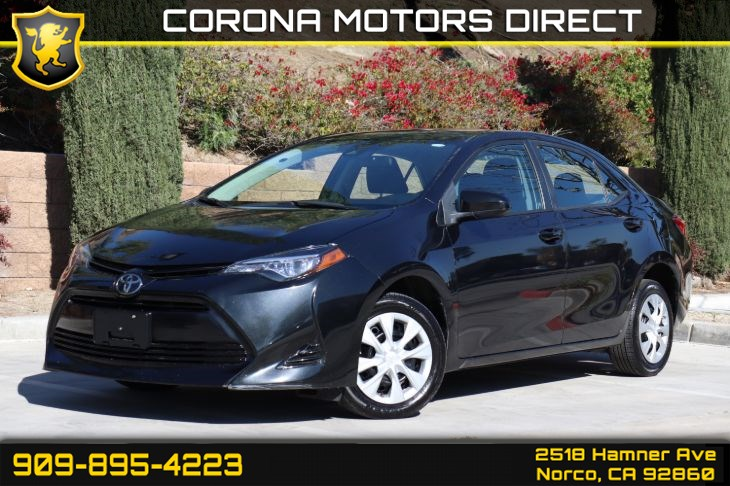2017 Toyota Corolla L (W/ BACK UP CAMERA & BLUETOOTH CONNECTIVITY)