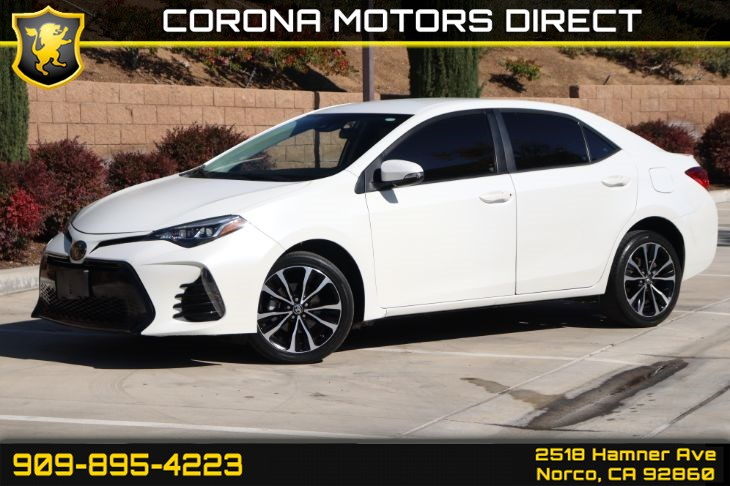 2017 Toyota Corolla L ( w/ Back-Up Camera & Cruise Control)
