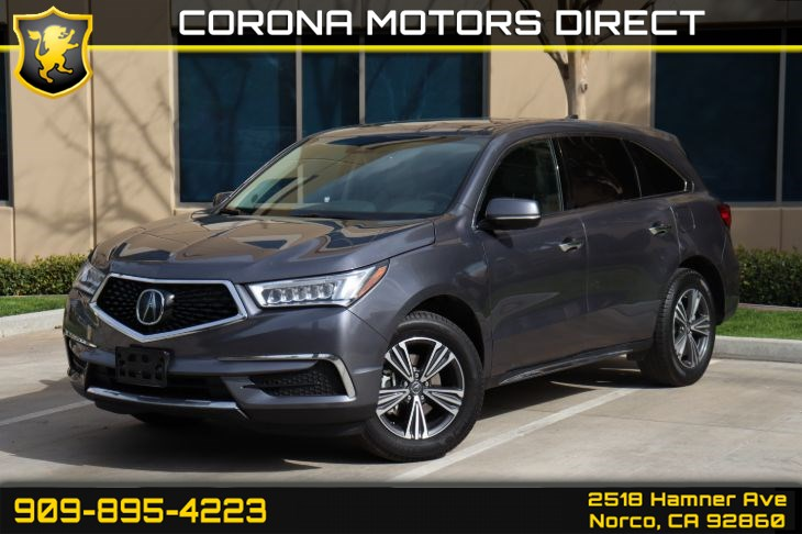 2018 Acura MDX (W/ BACK-UP CAMERA & SUNROOF)