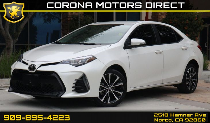 2018 Toyota Corolla SE ( BACK UP CAMERA & CRUISE CONTROL )