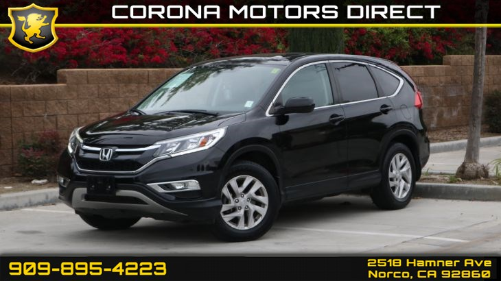 2016 Honda CR-V EX (w/ Sun/moon roof and Push to Start)