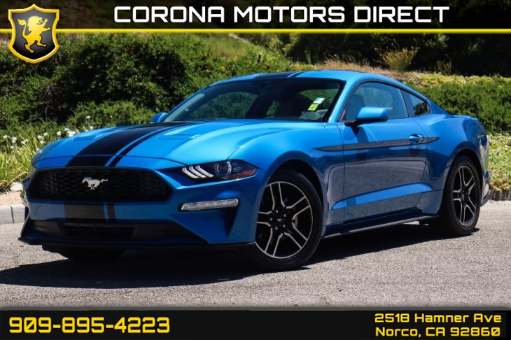 2019 Ford Mustang EcoBoost (w/ Navigation System & Bluetooth)