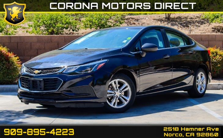 2017 Chevrolet Cruze LT (BLUETOOTH AUDIO & BACKUP CAMERA)