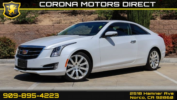 2017 Cadillac ATS Coupe Luxury RWD (Memory Package & Seating Package)