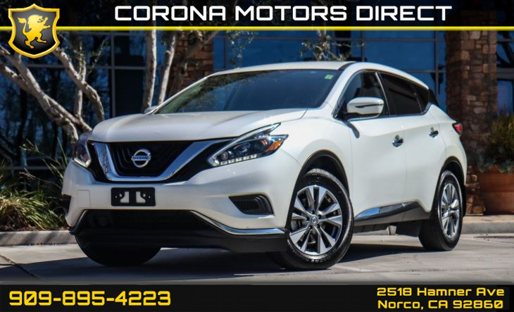 2018 Nissan Murano S (BLUETOOTH & BACK-UP CAMERA)