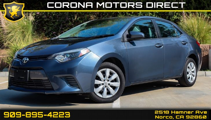2016 Toyota Corolla LE (W/ Bluetooth Connectivity & Back-up Camera)