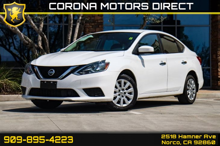 2018 Nissan Sentra S (w/ Bluetooth Connectivity & Back-up Camera)