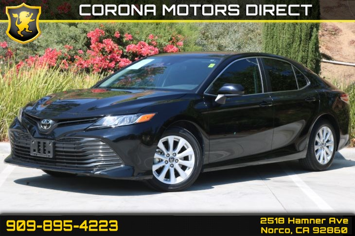 2019 Toyota Camry LE (W/ Back-up Camera & Bluetooth)