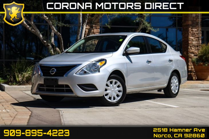 2017 Nissan Versa Sedan SV (w/ Bluetooth Connectivity)