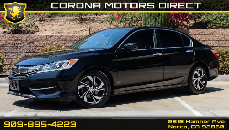 2016 Honda Accord Sedan LX (W/ Back-up Camera & Bluetooth)