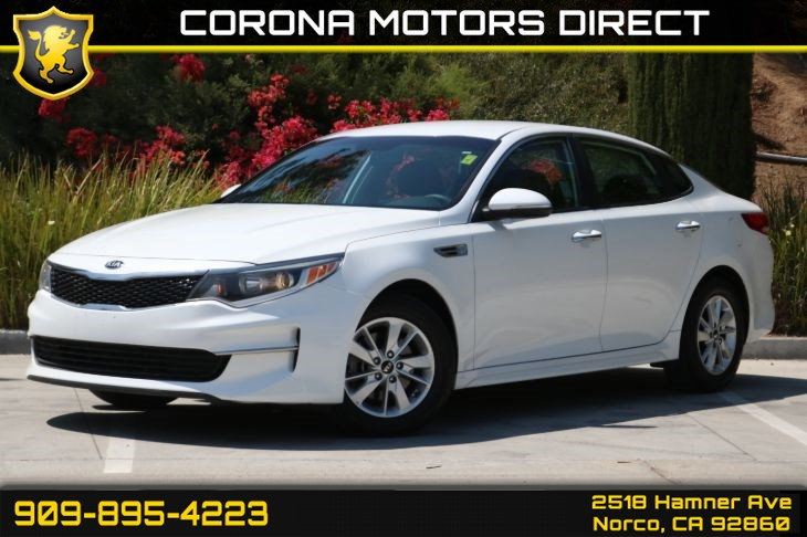 2016 Kia Optima LX (W/ Bluetooth & Back-up Camera)