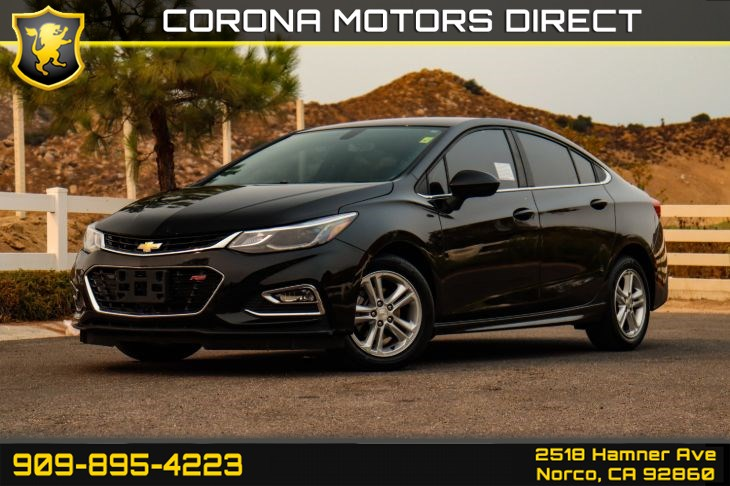 2018 Chevrolet Cruze LT (RS Package w/ Bluetooth Connectivity)