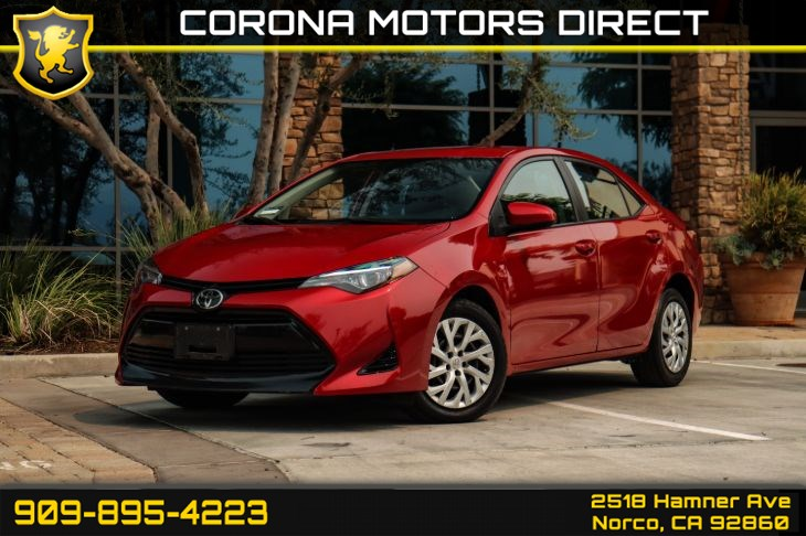 2017 Toyota Corolla LE (w/ Bluetooth Connectivity & Back-up Camera)