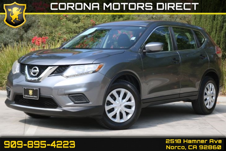 2016 Nissan Rogue S (W/ Back-up Camera & Bluetooth)