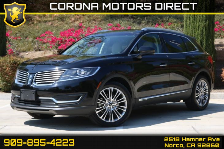 2017 Lincoln MKX Reserve (W/ Back-up Camera & Bluetooth)