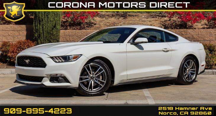 2015 Ford Mustang EcoBoost (w/ Bluetooth Connectivity & Back-up Camera)