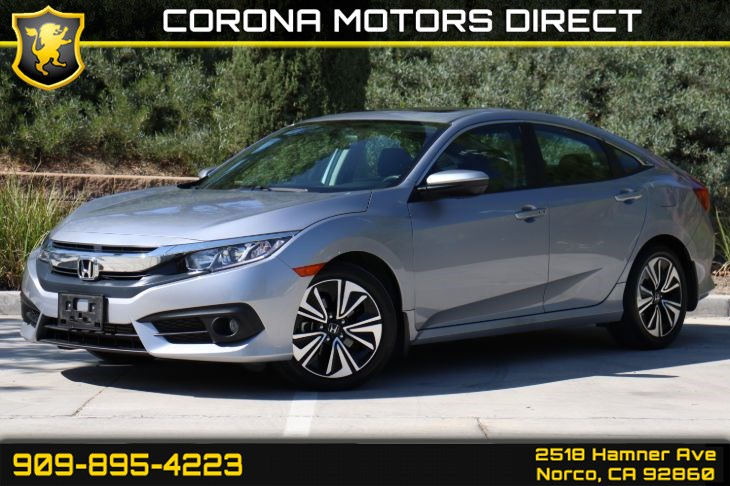 2016 Honda Civic Sedan EX-L (W/ Bluetooth & Sunroof)