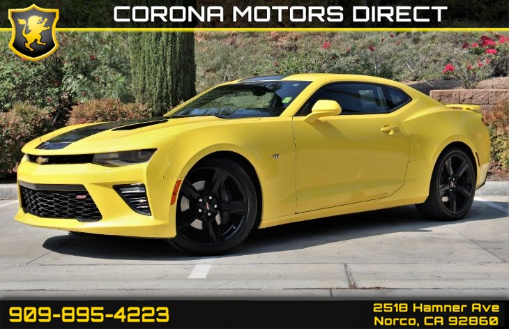 2016 Chevrolet Camaro 2SS (w/ 2SS PREFERRED EQUIPMENT GROUP)