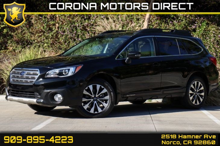 2017 Subaru Outback Limited (W/ Navigation System & Popular Package)