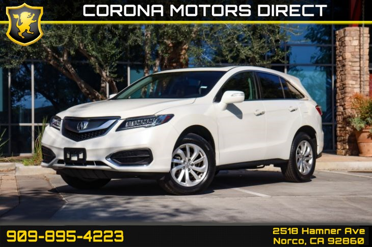2017 Acura RDX (W/ Technology Pkg & Back-up Camera)