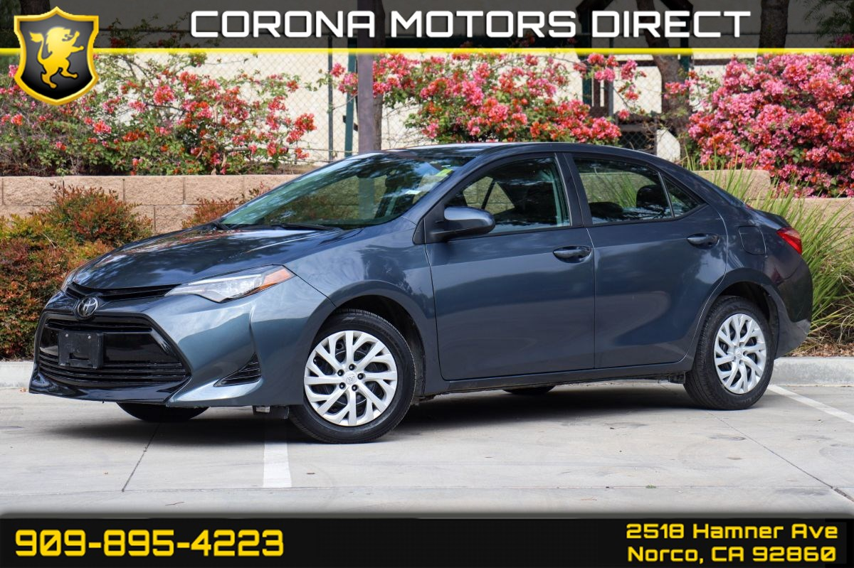 2019 Toyota Corolla LE (W/ Keyless Entry & Back-up Camera)