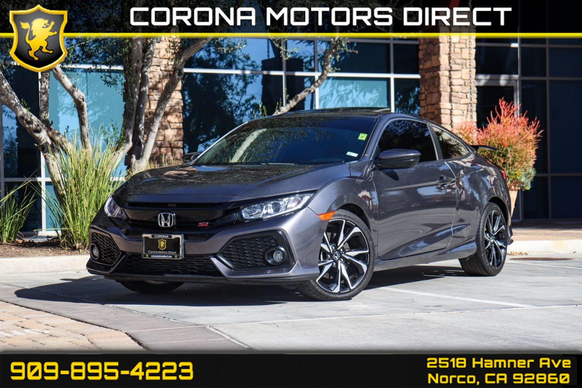 2018 Honda Civic Si Coupe w/ Bluetooth Connectivity & Back-up Camera