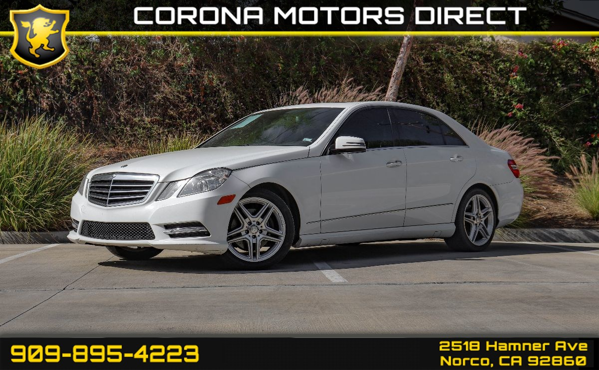 2013 Mercedes-Benz E 350 Luxury Sedan