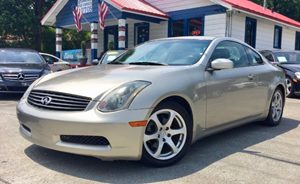 View 2004 INFINITI G35 Coupe