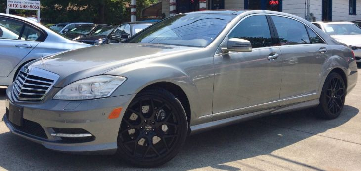 2010 Mercedes-Benz S 550 4MATIC Sedan